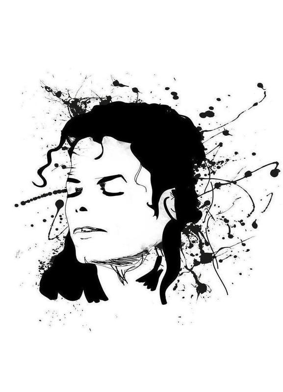 Michael -Leinwandbild