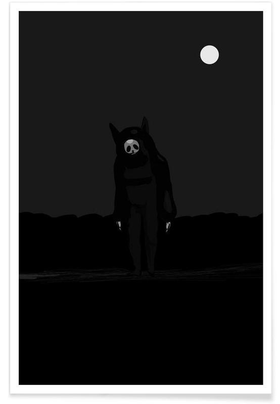 Créatures et hybrides, All Alone affiche
