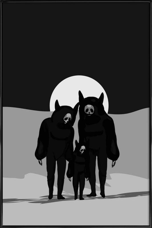 Never Alone Framed Poster