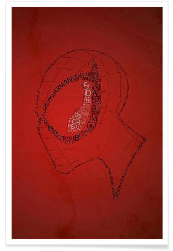 Spider-Man, Spider Quotes Plakat
