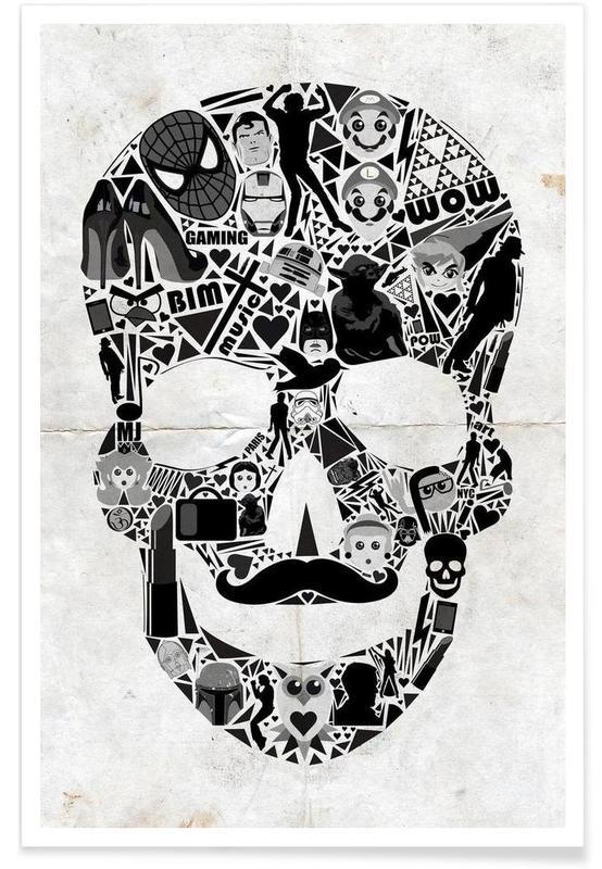 Skulls, My Skull Poster