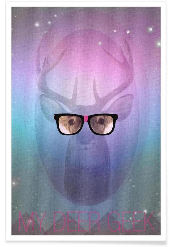 Cerfs, My Deer Geek affiche