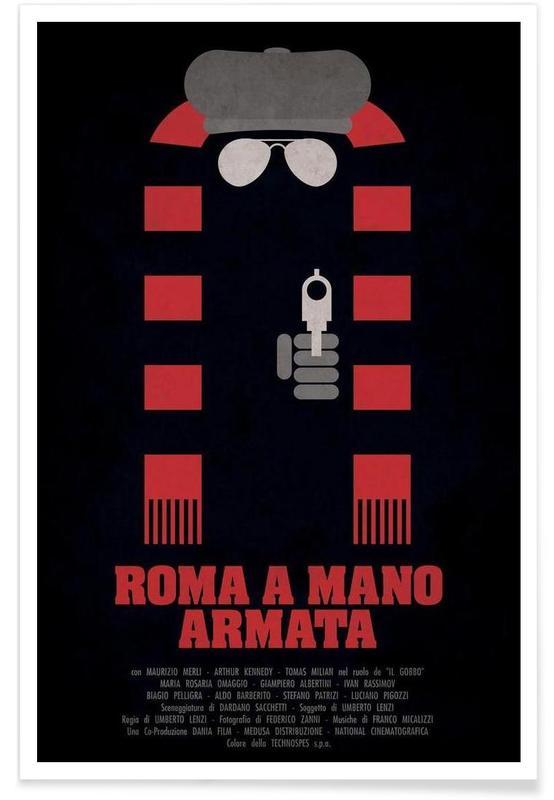 Films, Rétro, Roma a Mano Armata affiche