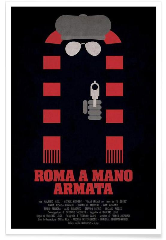 Roma a Mano Armata -Poster