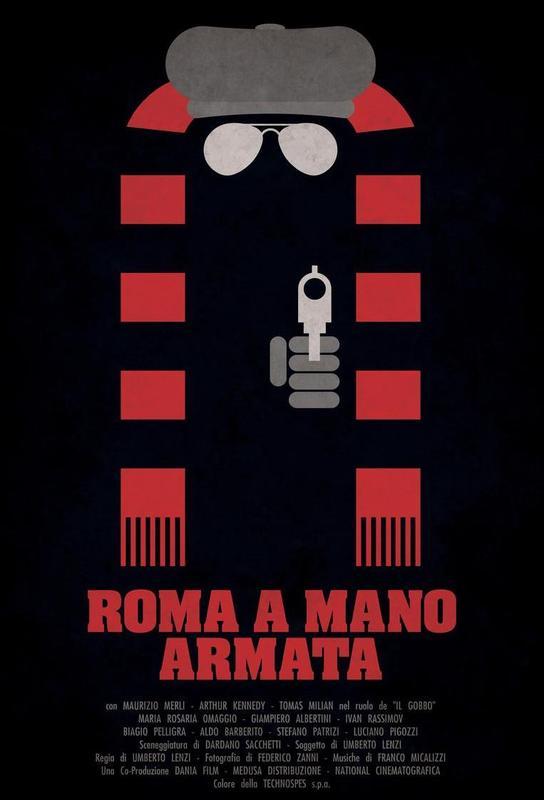 Roma a Mano Armata Acrylic Print