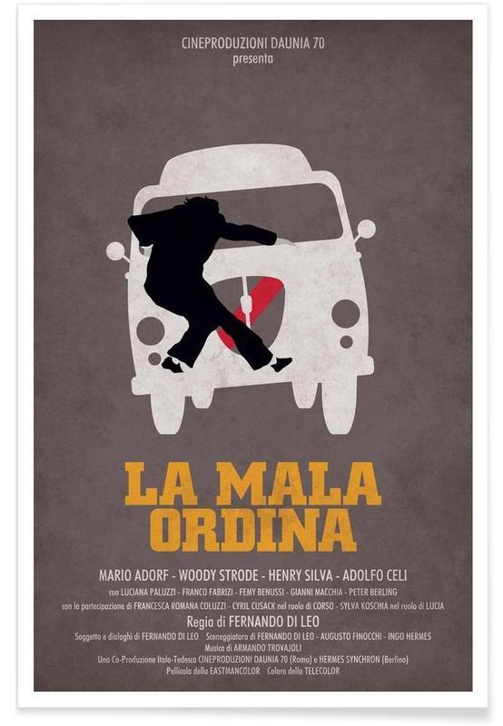 Films, Rétro, La Mala Ordina affiche
