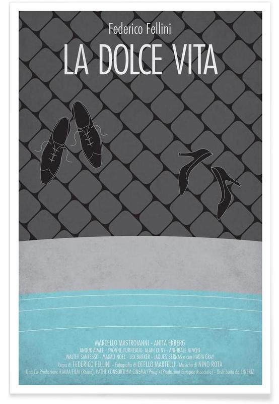 Filme, La Dolce Vita -Poster