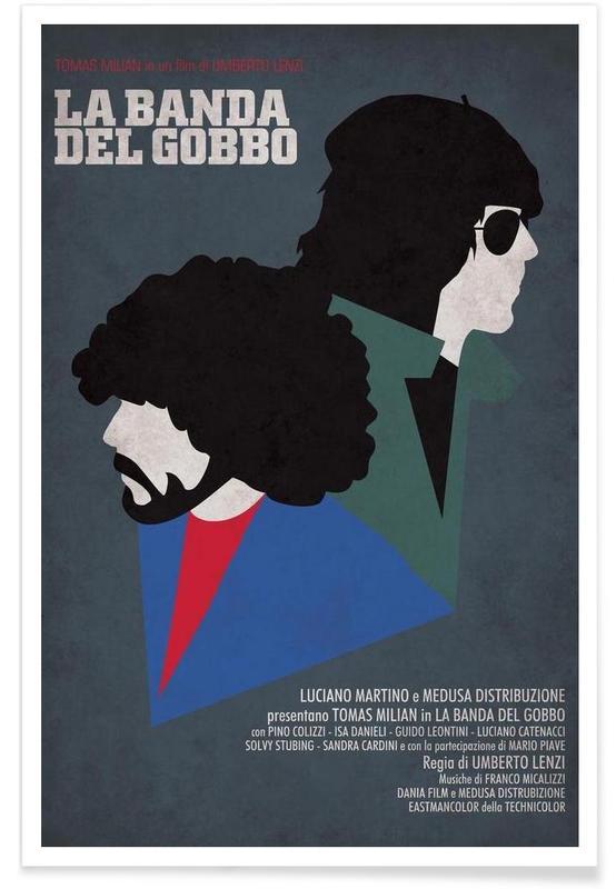 La Banda del Gobbo -Poster