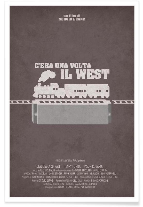 C'era Una Volta il West Poster