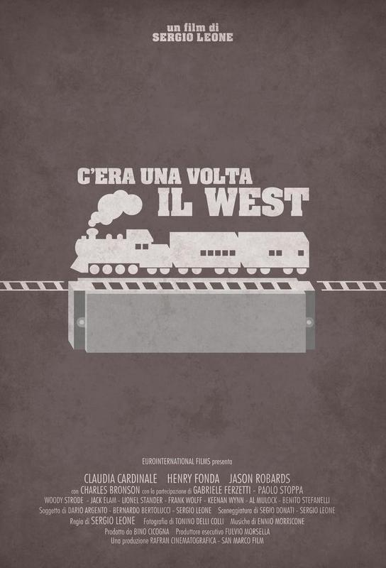 C'era Una Volta il West acrylglas print