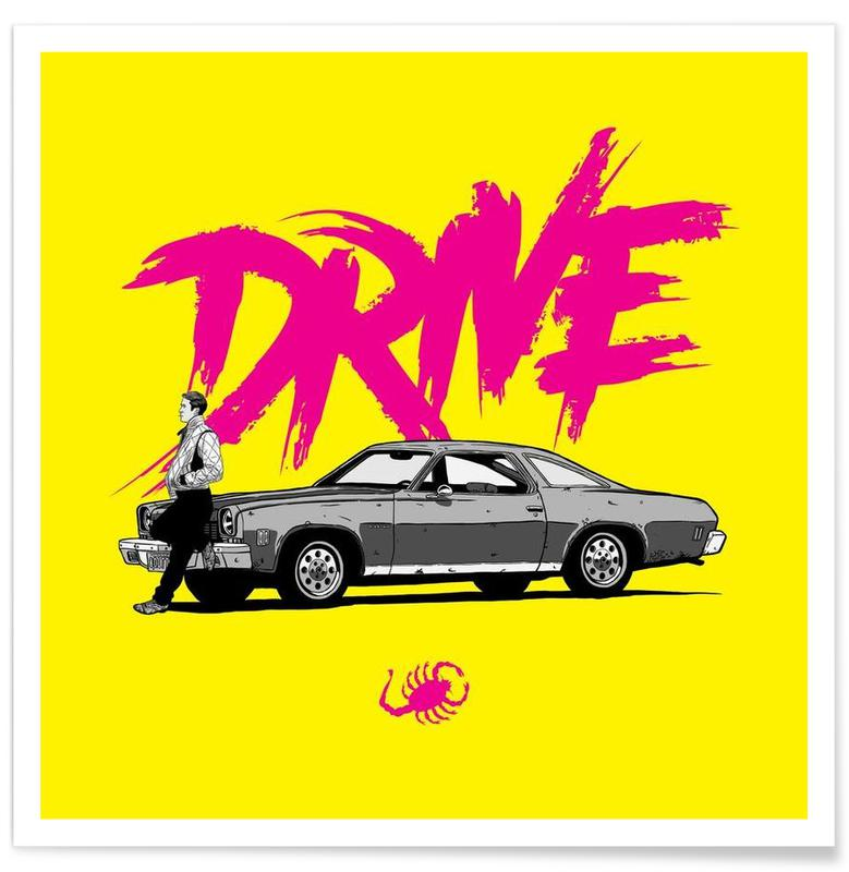 Films, Drive - Yellow affiche