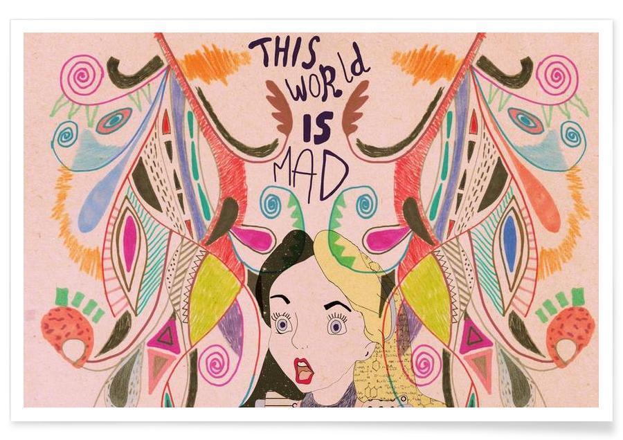 Films, Art pour enfants, Alice in Wonderland affiche