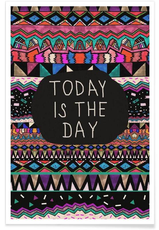 Today is the day affiche