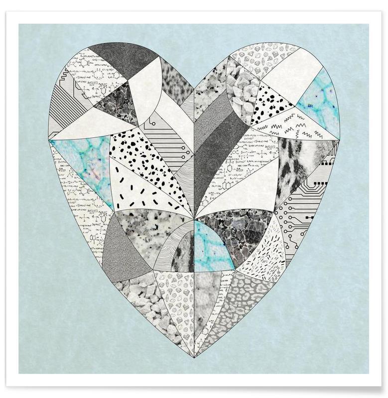 Cœurs, Chemical reaction heart affiche