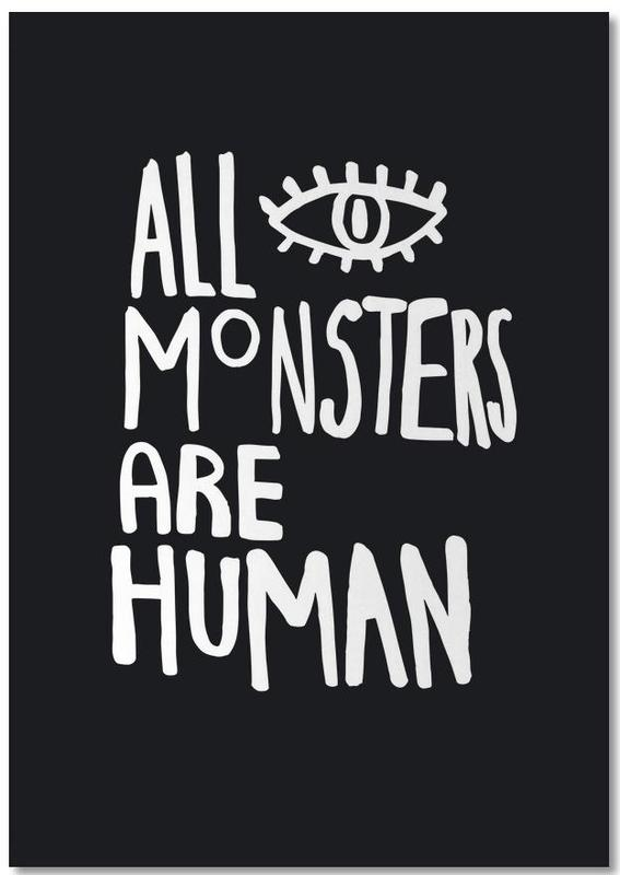 All Monsters Are Human Notepad