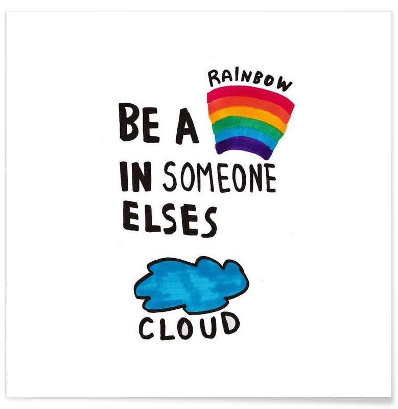 Be A Rainbow -Poster