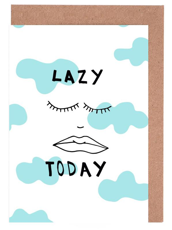 Lazy Today Clouds Greeting Card Set