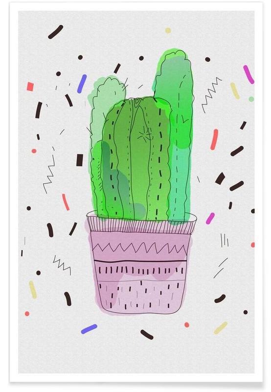Cacti, Cactus Poster