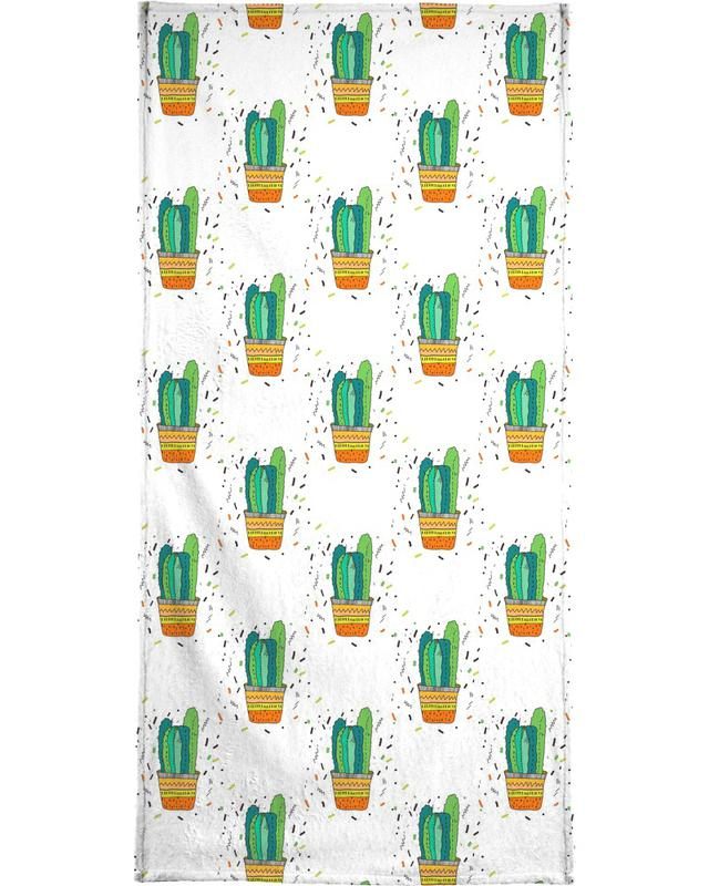 Cacti Cactus Bath Towel