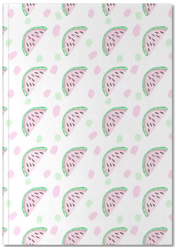 Watermelon Pattern Notebook