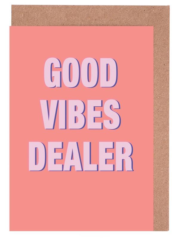 Good Vibes Dealer Greeting Card Set