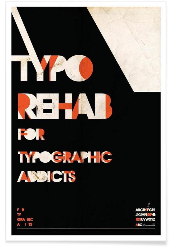 Typo rehab affiche