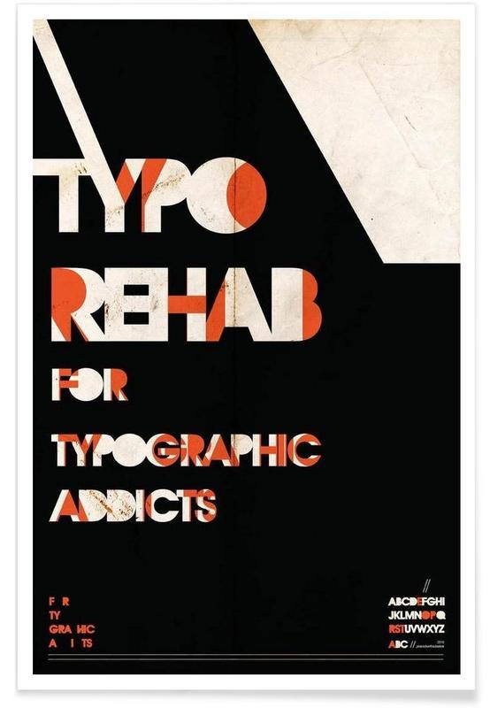 Typo rehab Poster