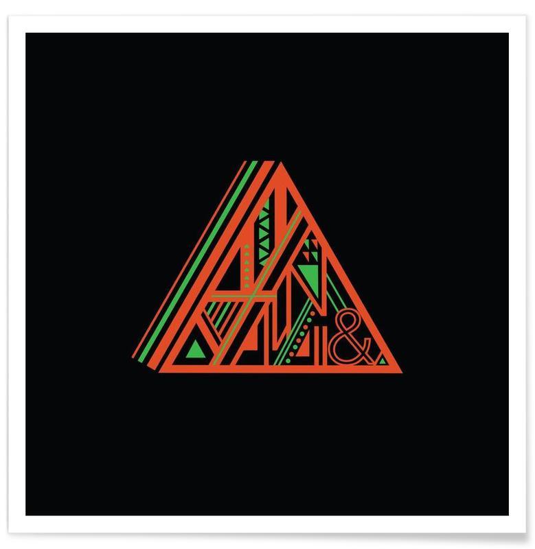 Symbolen, Triangle poster