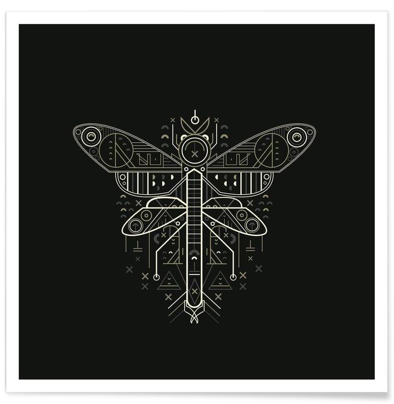 Noir & blanc, Zenith Mosquito affiche