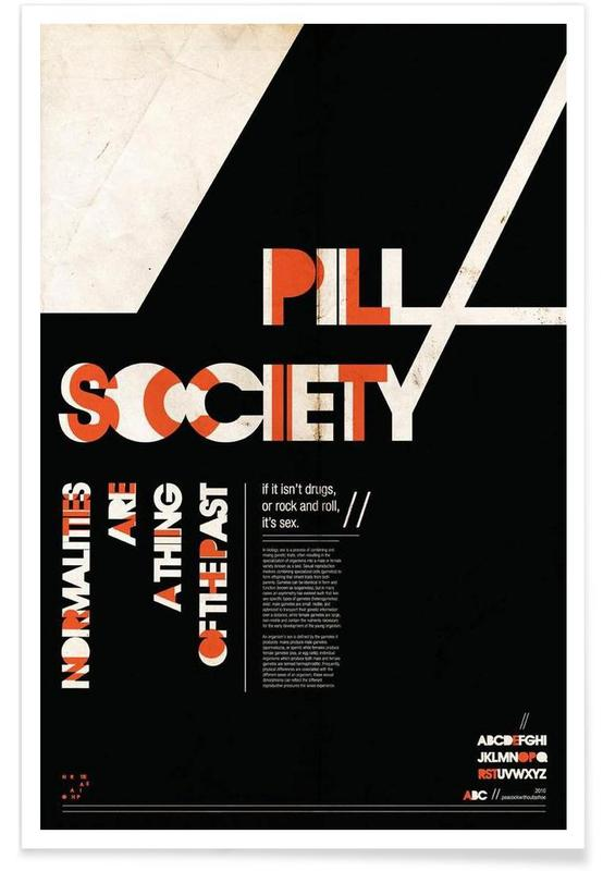 Pill Society -Poster