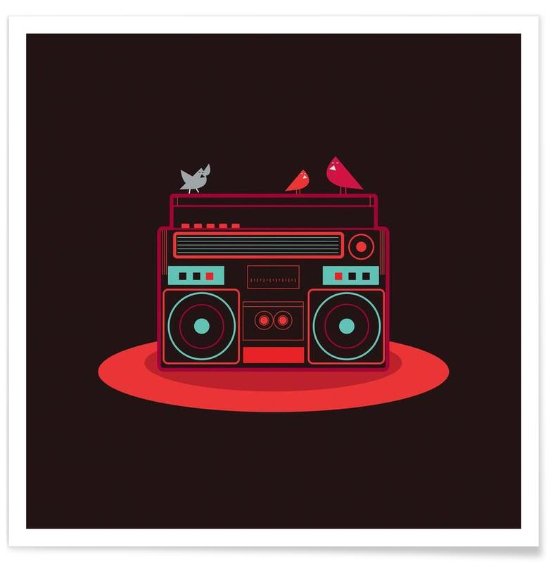 Boombox -Poster