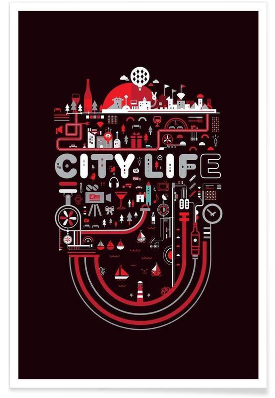 , City Life affiche