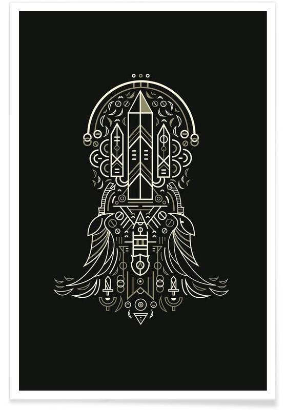 Noir & blanc, Eminence affiche