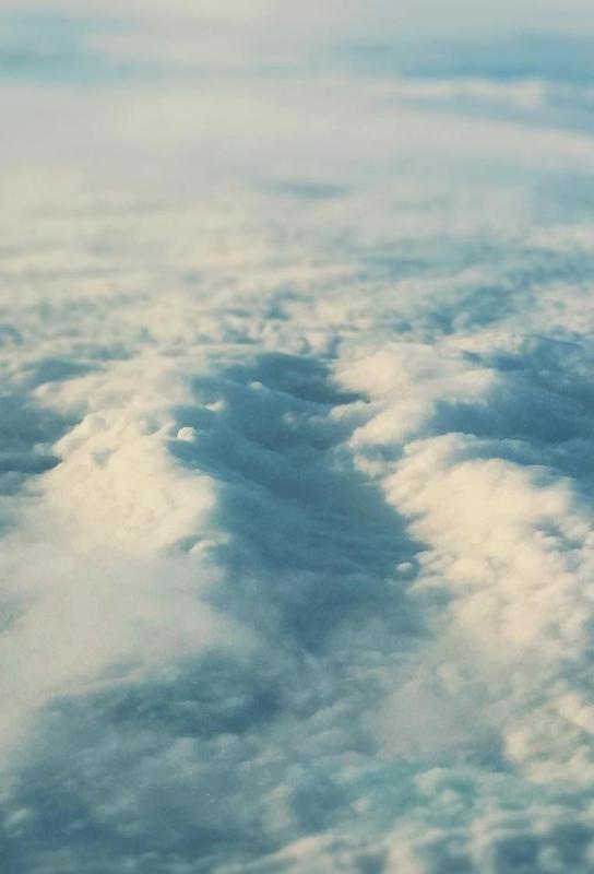 Cloud Sea Aluminium Print