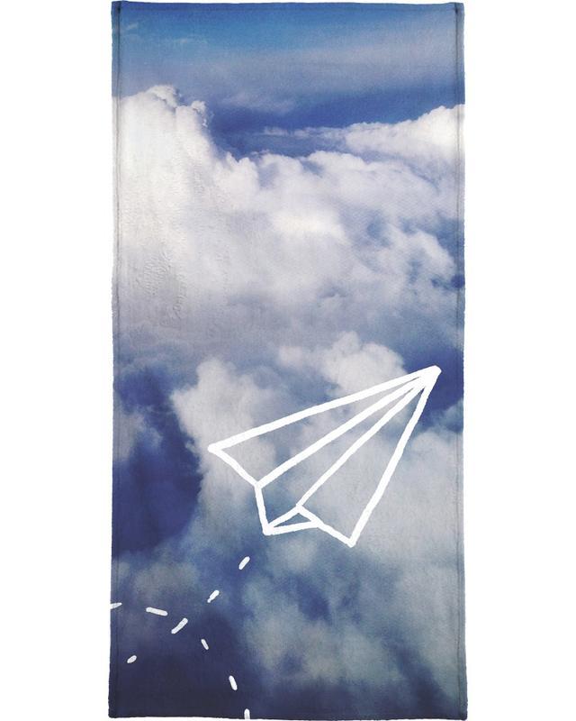 Paper Plane -Strandtuch
