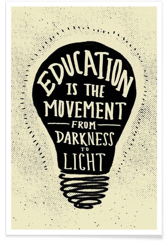 Quotes & Slogans, Education Poster