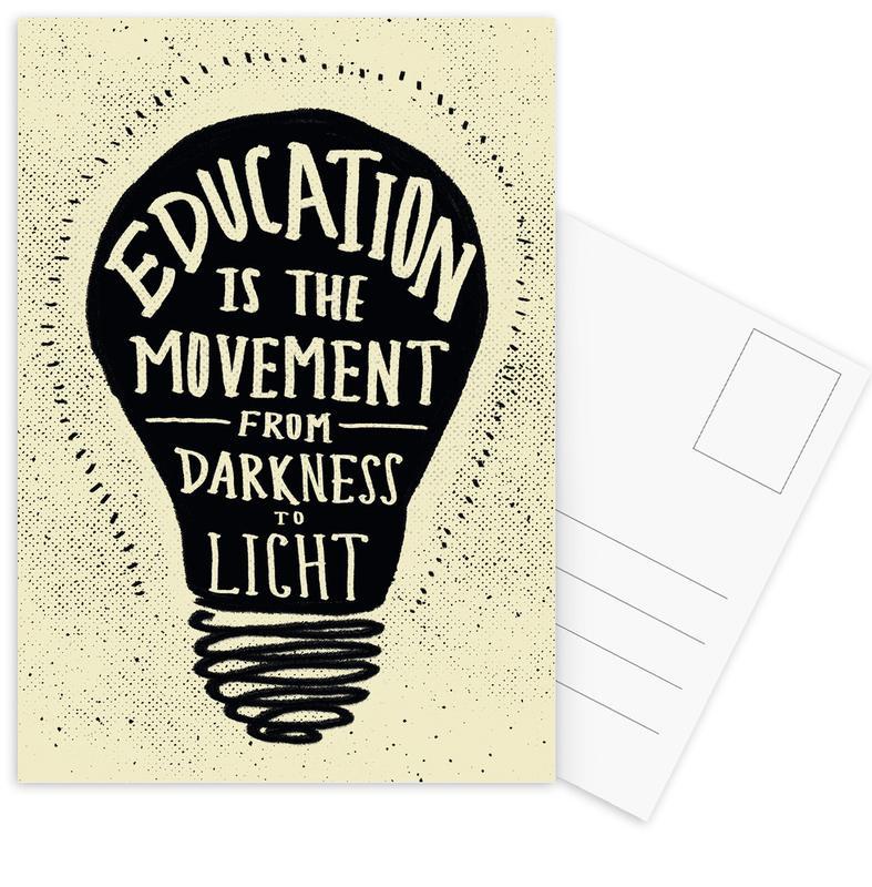 Education Postcard Set