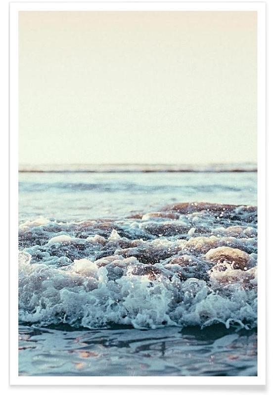 Hav, sø & havlandskab, Billede af Stillehavet Plakat
