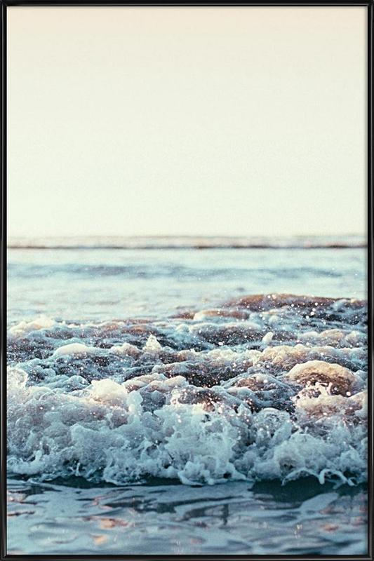 Pacific Ocean ingelijste poster