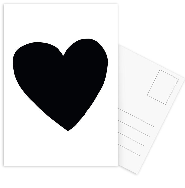 Big Heart -Postkartenset