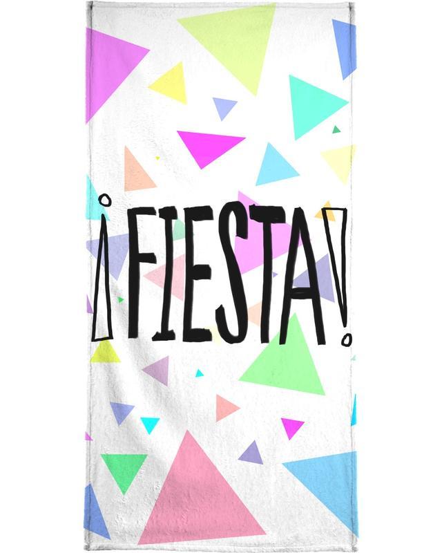 Glückwünsche, Zitate & Slogans, Geburtstage, Fiesta -Strandtuch