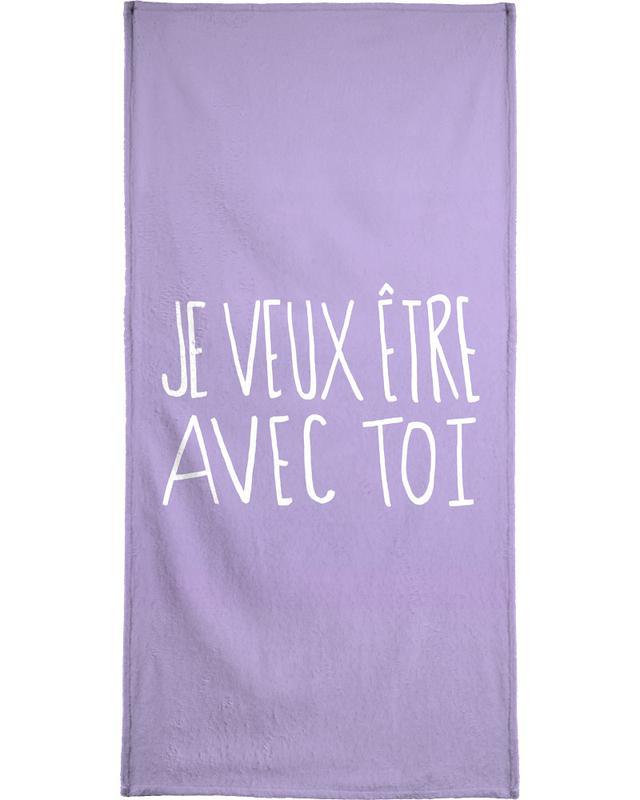 Je Veux Bath Towel