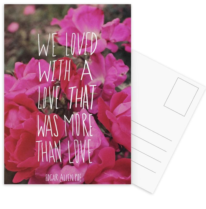 Poe Love Postcard Set