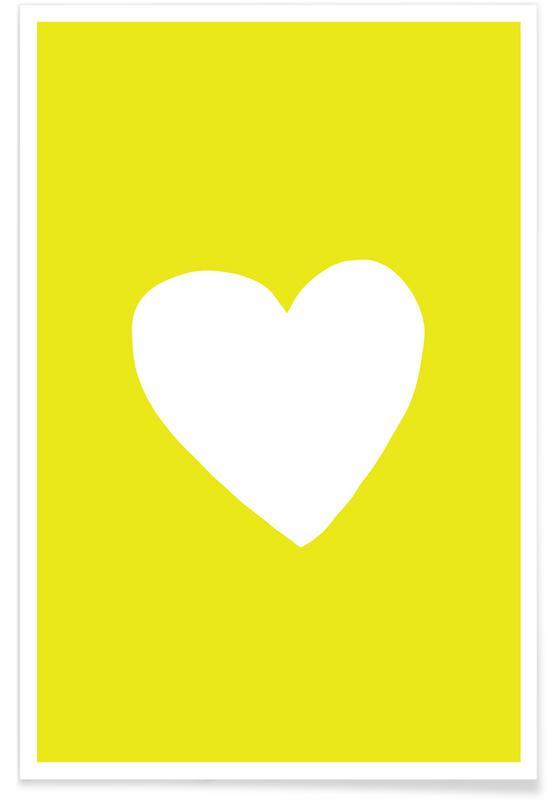 Cœurs, Anniversaires de mariage et amour, Saint-Valentin, Sunshine Heart affiche
