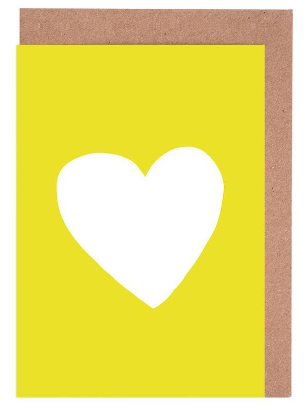 Sunshine Heart Greeting Card Set