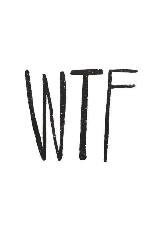WTF -Alubild