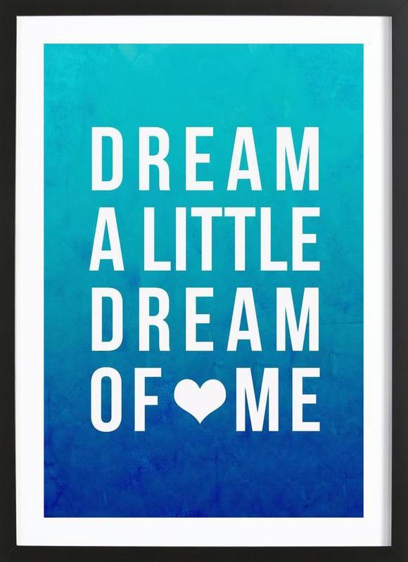 Dream Blue Framed Print