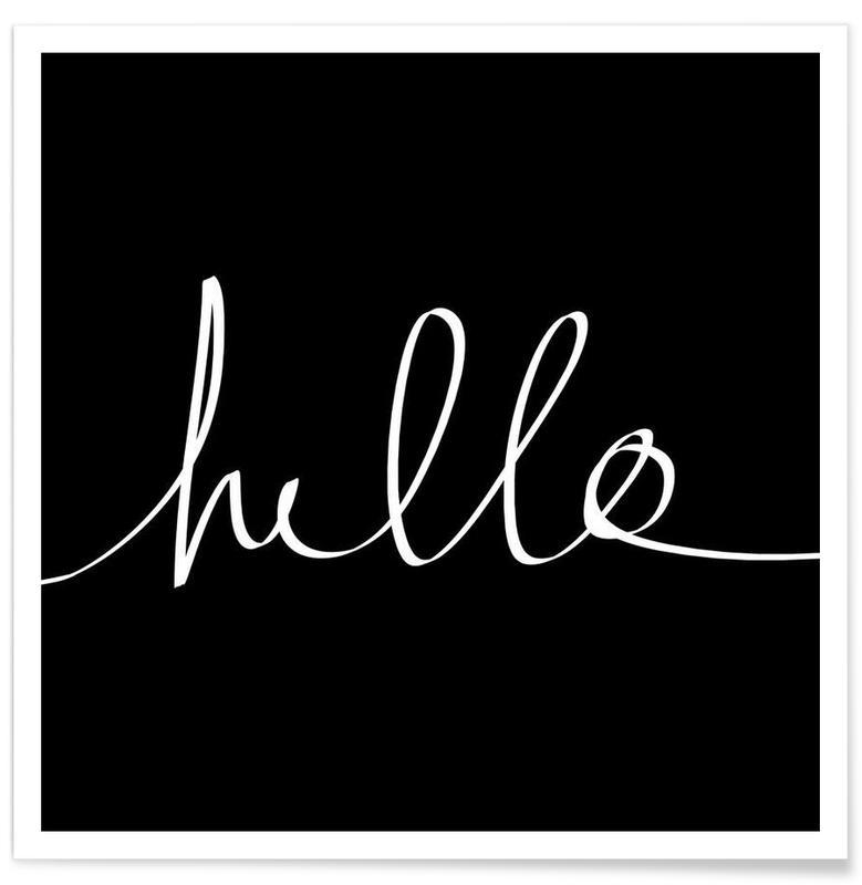 Hello affiche