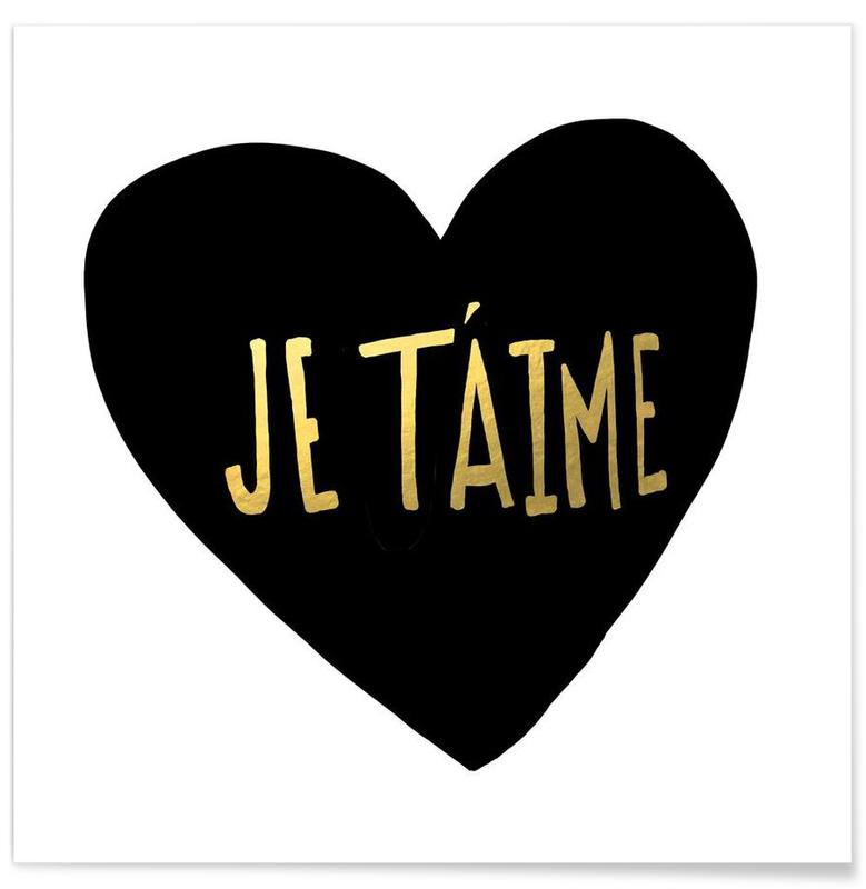 Je t'aime -Poster