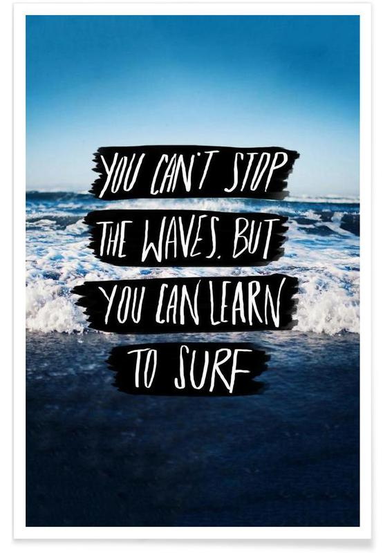 Learn to Surf affiche